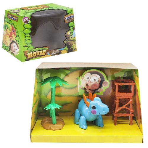 """Игровой набор """"Forest House"""" (голубой динозаврик) T15/T18"""