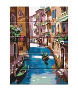 """Картина по номерам на дереве """"Венеция"""" ASW040 40х30 см"""