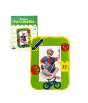 Детский набор для творчества Фоторамка: Спорт