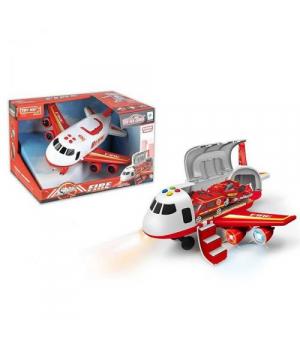 Самолет грузовой, красный 660A-243