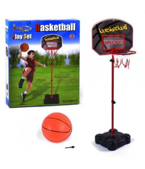 Баскетбольное кольцо на стойке для детей, до 141 см, 20881V