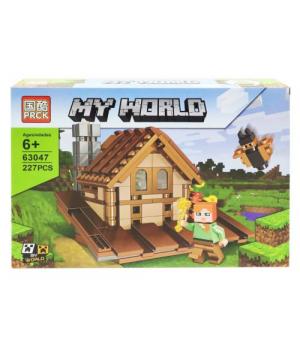 "Игрушка конструктор ""Minecraft - Майнкрафт - Майнкрафт. Дом"", 227 дет 63047"