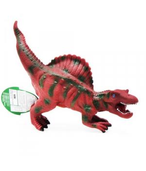 Игрушка динозавр на батарейках, звук, резиновый