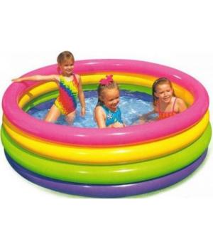 """Надувной бассейн для детей от 3 лет """"Весёлые колечки"""" Intex"""