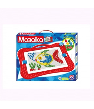 Мозаика детская пластиковая (340 элементов) 3367