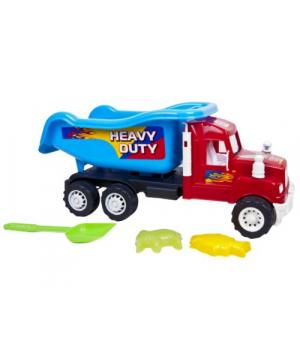 """Детская машинка для песочницы, самосвал """"Heavy Duty"""" с песочным набором, Kinderway"""