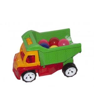 Алексбамс грузовик шар малый (зеленый) 087