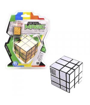 Кубик Рубика с таймером 3 х 3 х 3 (зеркальный) 043