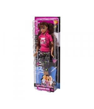 """Игрушка кукла """"Defa Lucy"""", в розовой кофте и штанах 8400"""