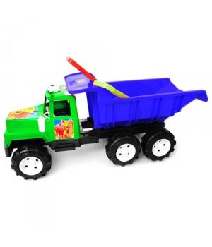 "Машина ""Фаворит"", с лопаткой и граблями (зеленая) KW-08-806"