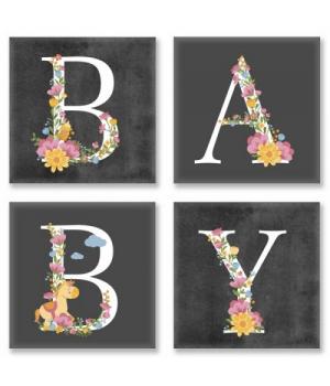 """Картина по номерам """"BABY, лофт"""" СН109 18х18 см"""