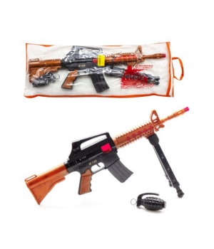 "Автомат-трещетка ""M16"" с гранатой 805"