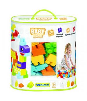 Baby Blocks Мои первые кубики 100 деталей в сумке 41420