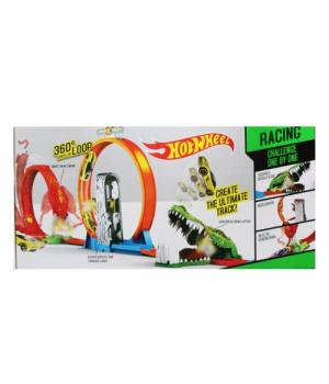 """Детский Автотрек с горками """"Hot Wheel: 360 Speed Loop"""" 6763"""