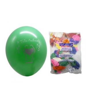 """Набор воздушных шариков """"Ассорти"""" (50 шт.) 208760"""
