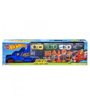 Іграшка фура з машинами (аналог Hot Wheels), 8820, синій