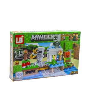 "Конструктор ""Minecraft: скелет"", 135 дет CB505-1"