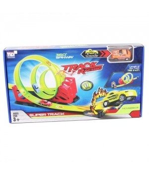 """Детский Автотрек с 3-петлями, и машинкой """"Super Track"""" 68803"""