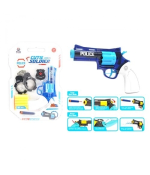 Игрушка набор полицейского с пистолетом и наручниками, Police Soldier