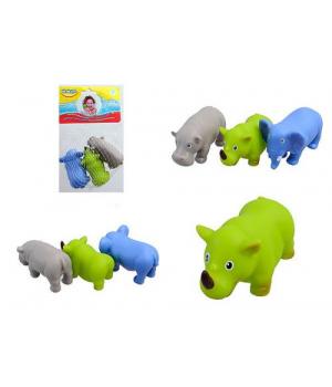 "Брызгалки игрушки для купания ""Африка"" (3 шт)"