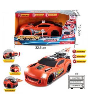 "Машина ""Furious Crazy"" на батарейках WS8972"
