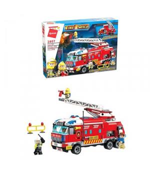 Конструктор Brick Пожарная машина 366 деталей 2807