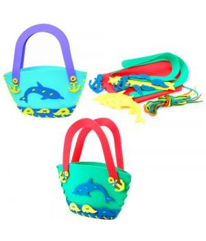 Сумка шнуровка детская, Дельфин, Бомик