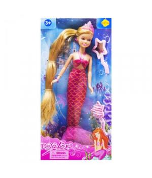 Игрушечная кукла Defa Lucy Русалочка розовый 8236