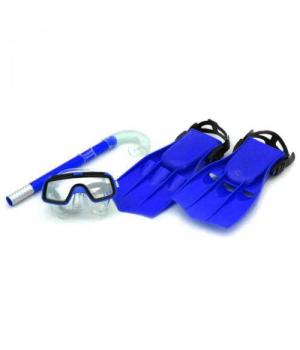 Набор для плавания детский (ласты, маска и трубка), Размер:34-38