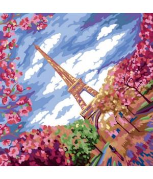 """Картина по номерам """"Весна в Париже"""" рус KpN-02-01,02,03,04,...10"""