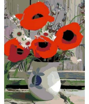 """Картина по номерам """"Полевые цветы"""" ★★☆ N00013284 35х45 см"""