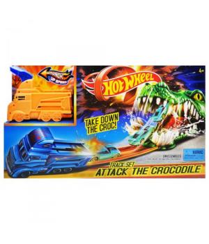 """Детский Автотрек с запуском """"Hot Wheel: Крокодил"""" 3078"""