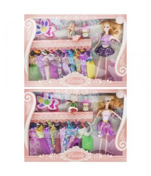 Игрушка Кукла с гардеробом RY8089