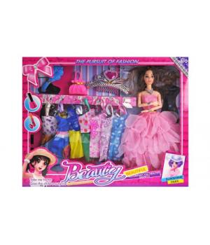 """Детская Кукла с гардеробом """"Beauty"""" R839"""