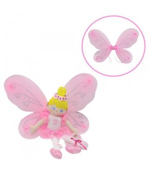 """Мягкая кукла с маскарадными крыльями """"Фея"""" HC011634"""