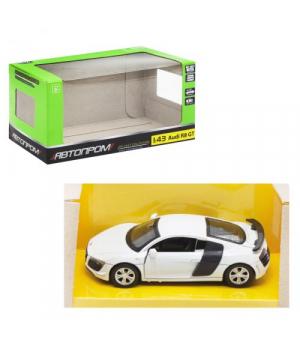 """Машинка """"Audi R8 GT"""" из серии """"Автопром"""", белый 4319"""
