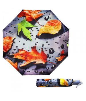"""Детский зонтик складной """"Осенние листья"""""""