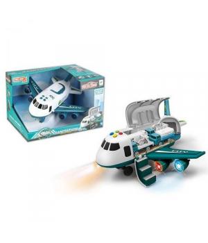 Самолет грузовой, бирюзовый 660A-245