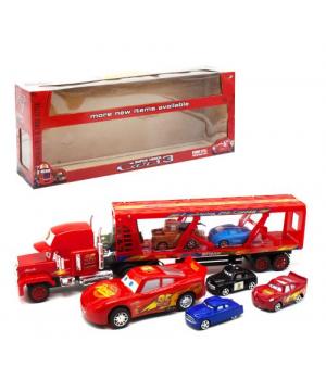 """Іграшка Автовоз """"Тачки"""" з машинками 919-116"""