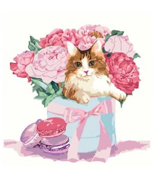 """Картина по номерам """"Подарок с изюминкой"""" ★★★ КНО4173 30х30 см"""