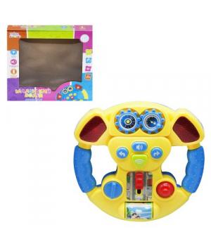 Игрушка руль с машинкой интерактивный, Play Smart