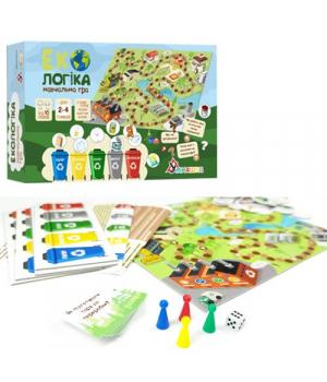 Настольная игра для детей 10 лет Экологика