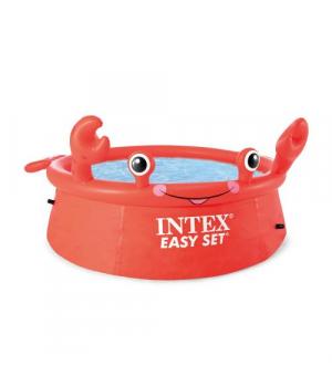 Детский надувной бассейн, Краб 183*51см, Intex