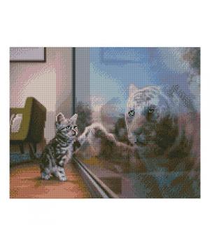 "Алмазная мозаика ""Будущий тигр"" FA40710 40х50 см"