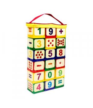 "Детские кубики с цифрами ""Арифметика"", Юника"