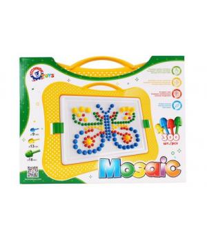 Мозаика для детей 5 лет, 300 элементов, Технок
