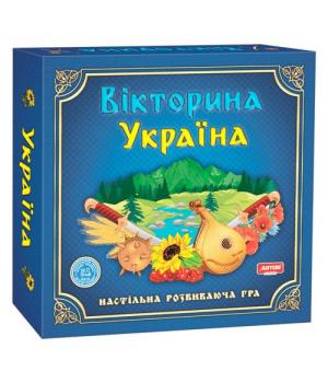 """Настольная игра """"Викторина Украина"""" 20994"""