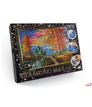 """Алмазная живопись """"DIAMOND MOSAIC"""", """"Осенний пейзаж"""" DM-01-03"""
