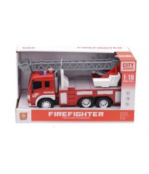 Пожарная машина со звуком и светом, WENYI