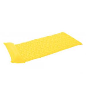 Матрас для плавания, волнистый (желтый), Intex